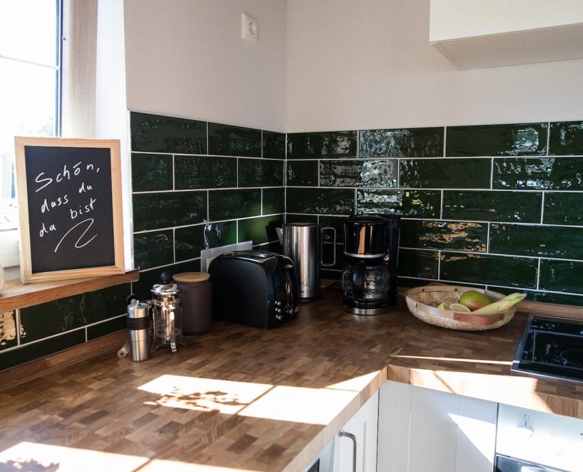 Küche close | Lytte Hytte | Ferienhaus Wingst